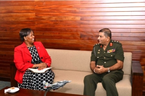 Botswana High Commissioner meets Chief of Defence Staff