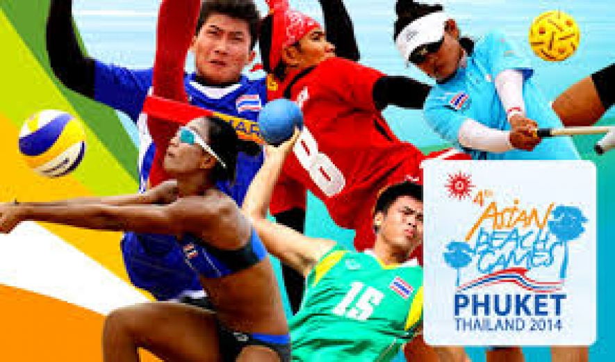 4th Asian Beach Games 2014 begins today in Phuket