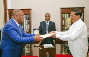Mangala Samaraweera re-appointed as Foreign Minister