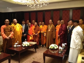 Sri Lankan Buddhist delegation attends 4th World Buddhist Forum in China
