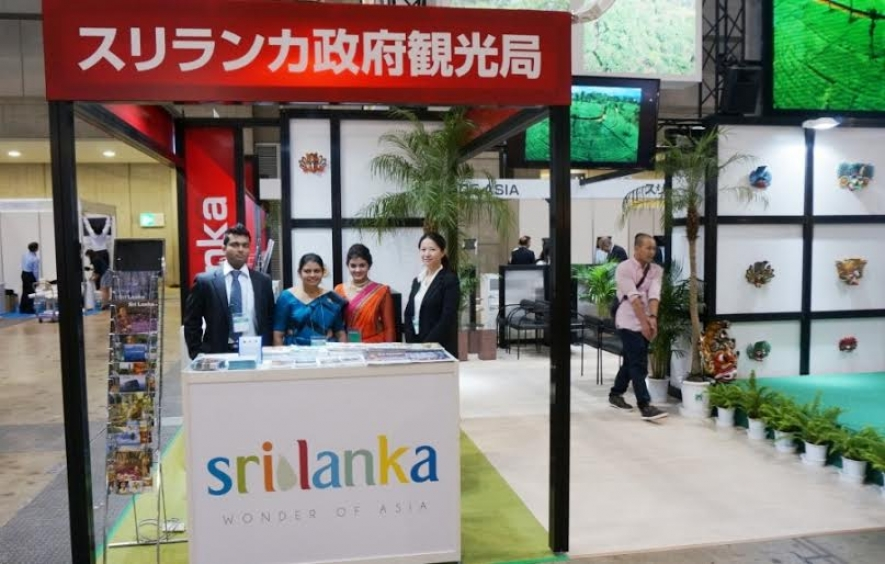 SRI LANKA TOURISM AT JATA TOURISM EXPO JAPAN 2014