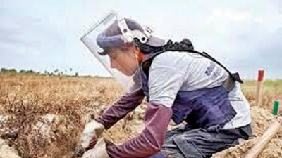 Germany grants4 Mn euros for  mine clearance