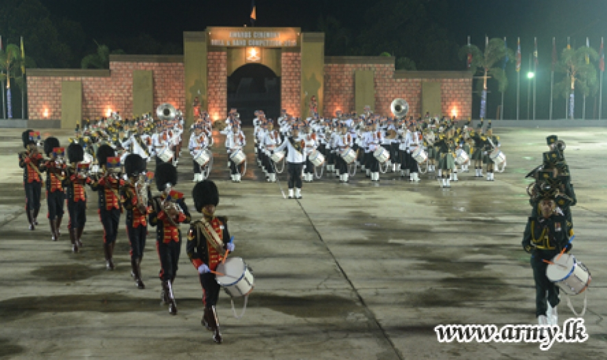 Sappers & Waggoners Carry Away Championships in Drill & Band Competitions