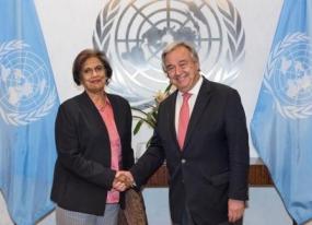 ONUR Chairperson meets UN Secretary General