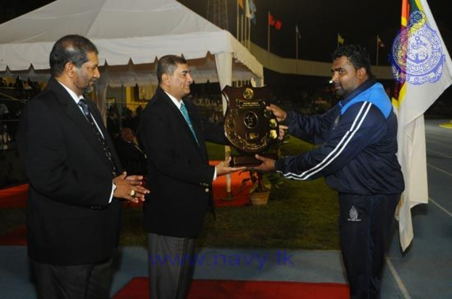 Sri Lanka Navy emerge Champions at  Defence Services Games