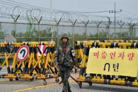 N. Korea's Kim puts troops on war footing with South