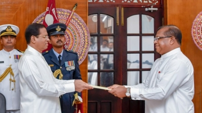 Two Ministers and a State Minister Sworn In