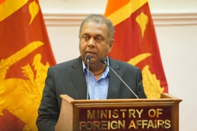 SL Foreign Affairs Minister speaks on Human Rights Day