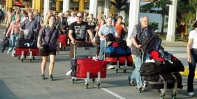 2014 Tourist Arrivals surpass one million up to August