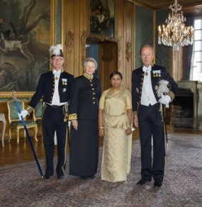 New Sri Lankan envoy to Sweden presents Credentials