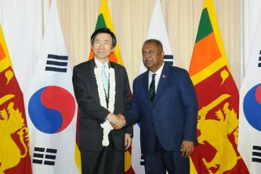 Statement by Minister Samaraweera following bilateral talks with the Korean Foreign Minister