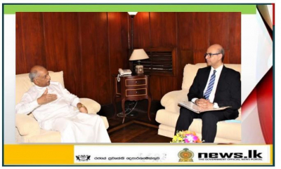 Egyptian Ambassador discusses regional and bilateral cooperation with Hon. Dinesh Gunawardena