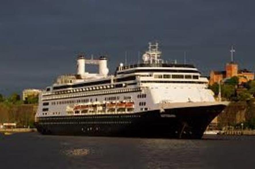 Flagship Of Holland MS Rotterdam To Call At Hambantota Port Today - Ms rotterdam