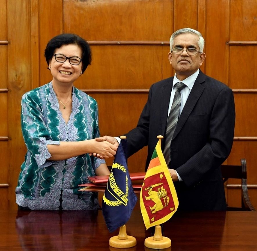USD 50 million from ADB to support the Enterprise Sri Lanka  rooftop solar power project