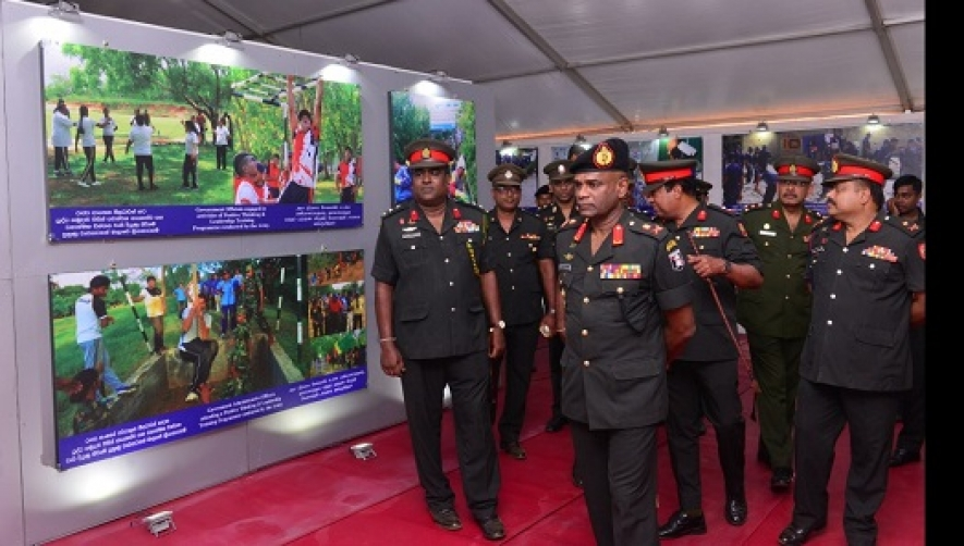 Commander Calls at Moneragala 'Enterprise Sri Lanka V2025' Exhibition