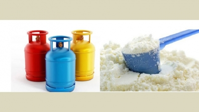 Imported milk powder increased, Gas price reduced