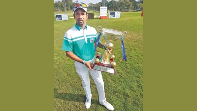 Anura Rohana wins Bengaluru Open Golf C'ship
