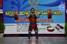 Navy crowned champions at National Weight Lifting championship – 2015