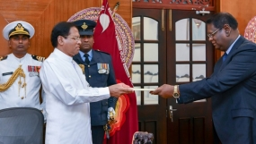 Judge Nalin Perera sworn in as new Chief Justice