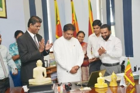 """LANKA PUWATH"" reopened"