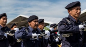 Malaysian security forces will undergo sea combat training here