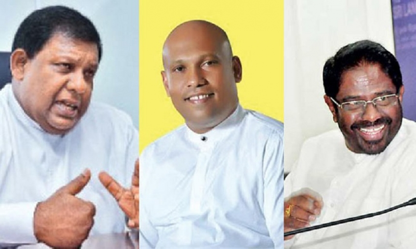 Three UPFA MPs crossover to govt