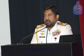 Commander of the Navy addresses student officers of DSCSC
