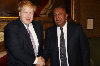 Foreign Minister meets British Foreign Secretary