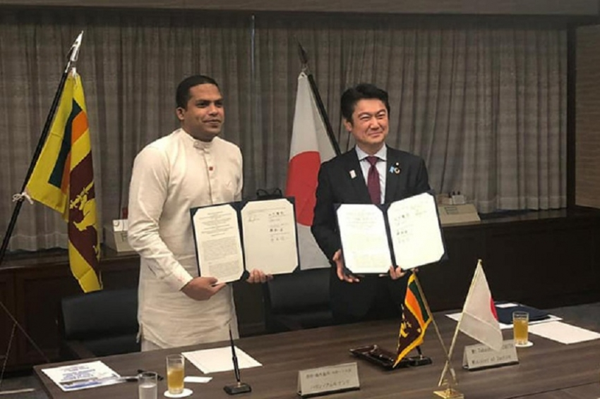 SL signed agreement with Japan on sending  workers for employment