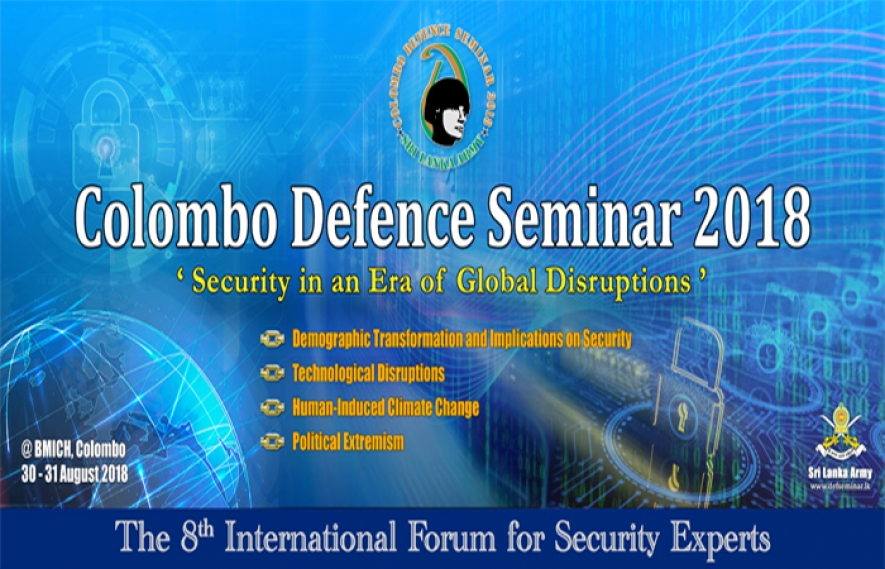 "All set for ""Colombo Defense Seminar 2018"""