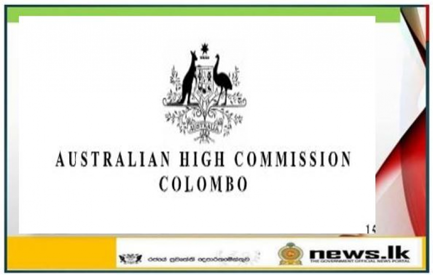 Australia - Sri Lanka strengthen ties over aerial drone surveillance