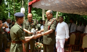 A noble gesture of Ven.Ariyawanshalankara Nayaka Thero fulfilled