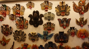 Glimpse into the tradition of arts and crafts of Sri Lanka - Mask