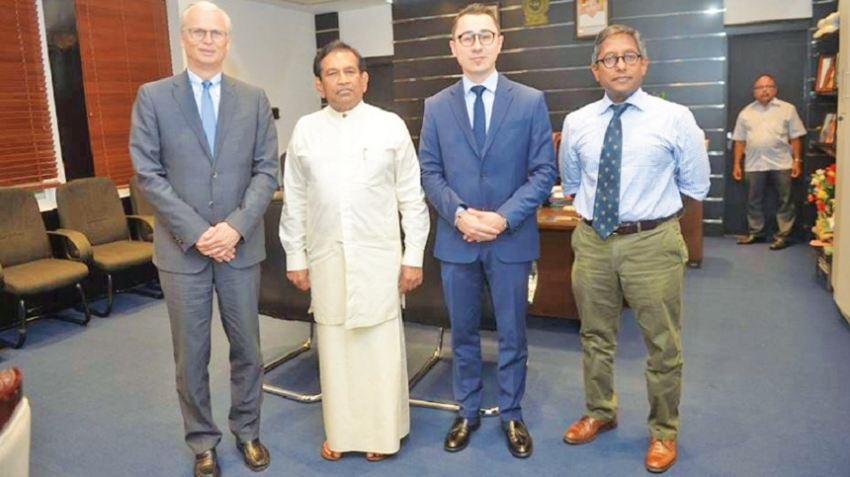 Swiss drug firm supports cancer care in SL