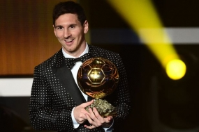 Lionel Messi wins Ballon d-Or Award