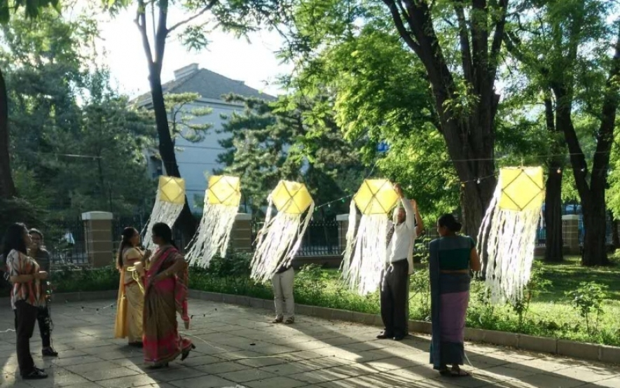 Poson celebrated Sri Lanka Embassy in Beijing