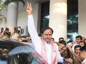 We will make Telangana a model State: KCR