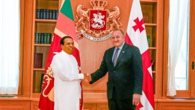 Leaders pay attention on strengthening Sri Lanka –Georgia ties