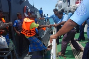 Sri Lanka Navy assists to repatriate 46 Indian fishermen
