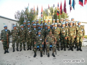 UNIFIL Head of Mission Praises Sri Lankan Contingent in Lebanon