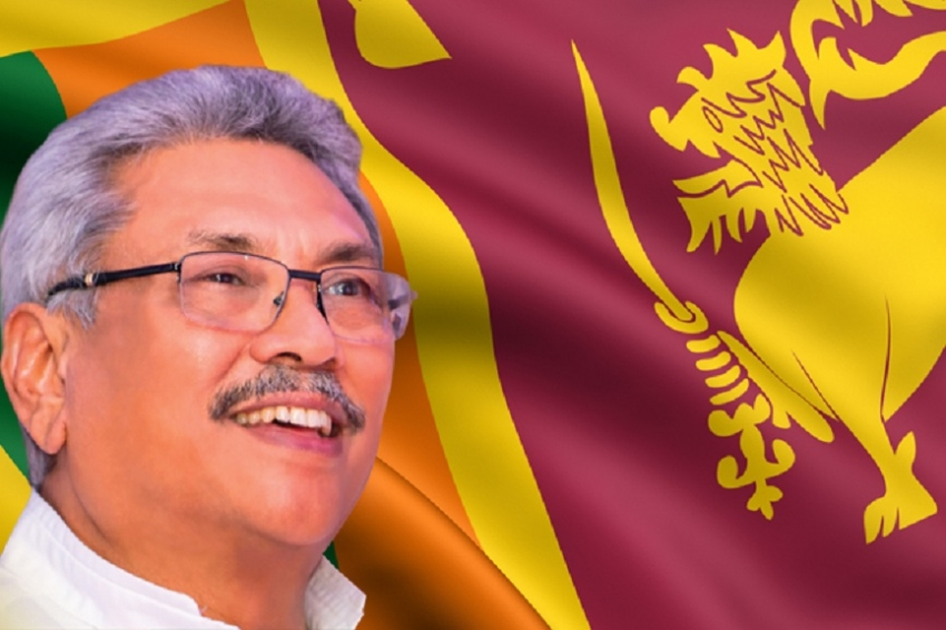 Elected  7th Executive President of Sri Lanka