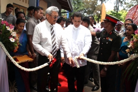 'Puradora Sewana' Housing Scheme declared open