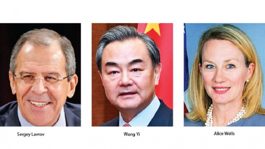 Russian, Chinese Foreign Ministers due next week