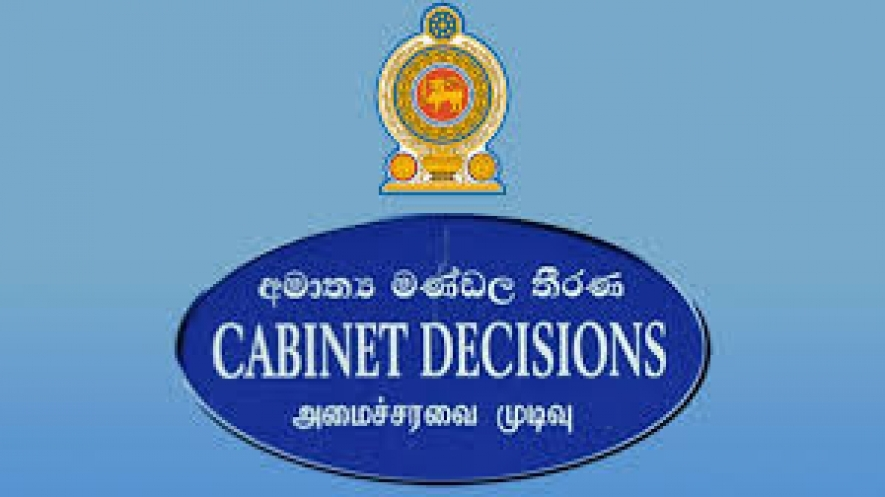 Decisions taken by the cabinet of Ministers at its meeting held on 02.10.2018