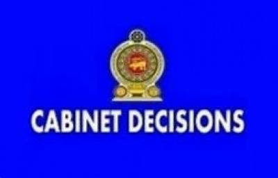 Decisions taken by Cabinet of Ministers on 18.12.2019