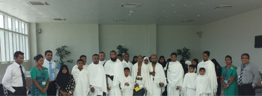 SriLankan Airlines facilitates Umrah pilgrims from MRIA