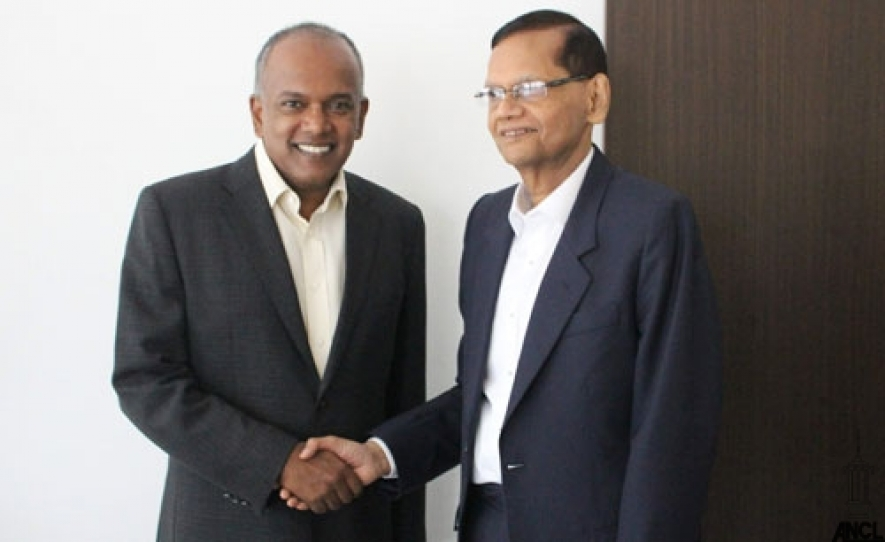 Foreign Ministers of Sri Lanka & Singapore consolidate strong bilateral ties
