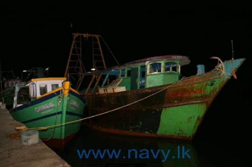 Navy arrests 10 Indian fishermen for  illegal fishing