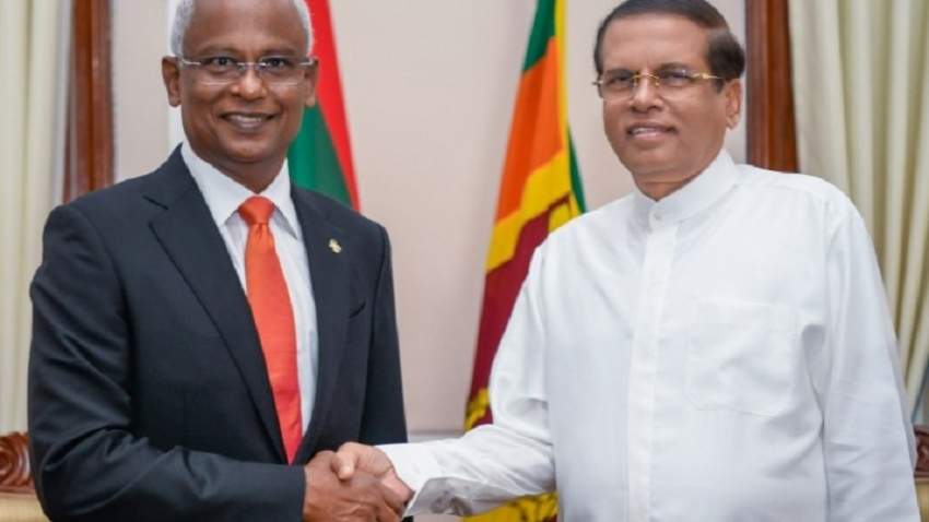 JOINT COMMUNIQUÉ BETWEEN THE  SRI LANKA AND THE  MALDIVES