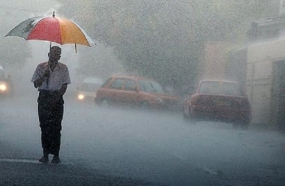 Heavy rain falls of 150mm at some places